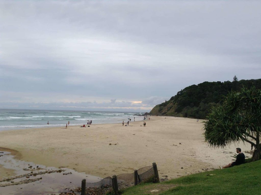 Strand in Byron Bay