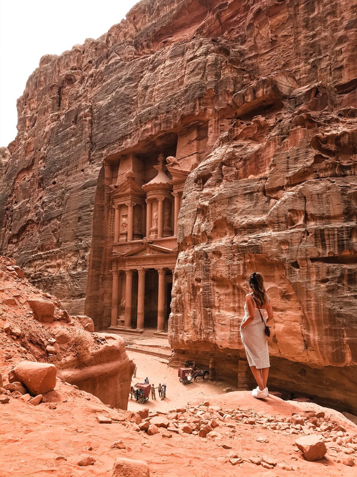 Petra - UNESCO-Weltkulturerbe und Weltwunder der Moderne