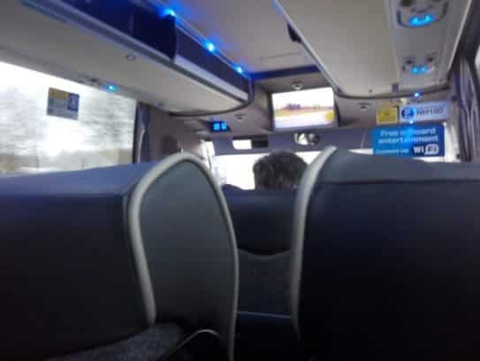 Vom Flughafen Stansted nach London City