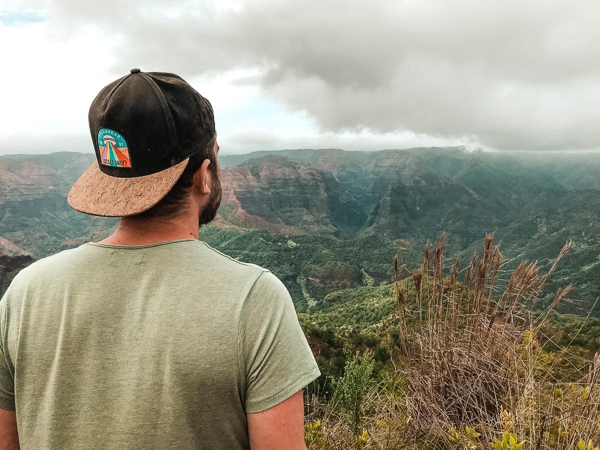 Ausblick vom Waimea Canyon