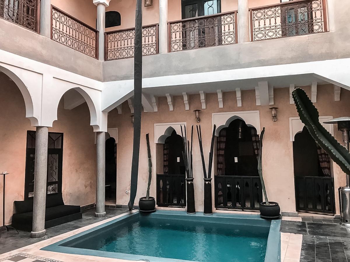 Unsere Unterkunft - Das Riad Dar el Masa