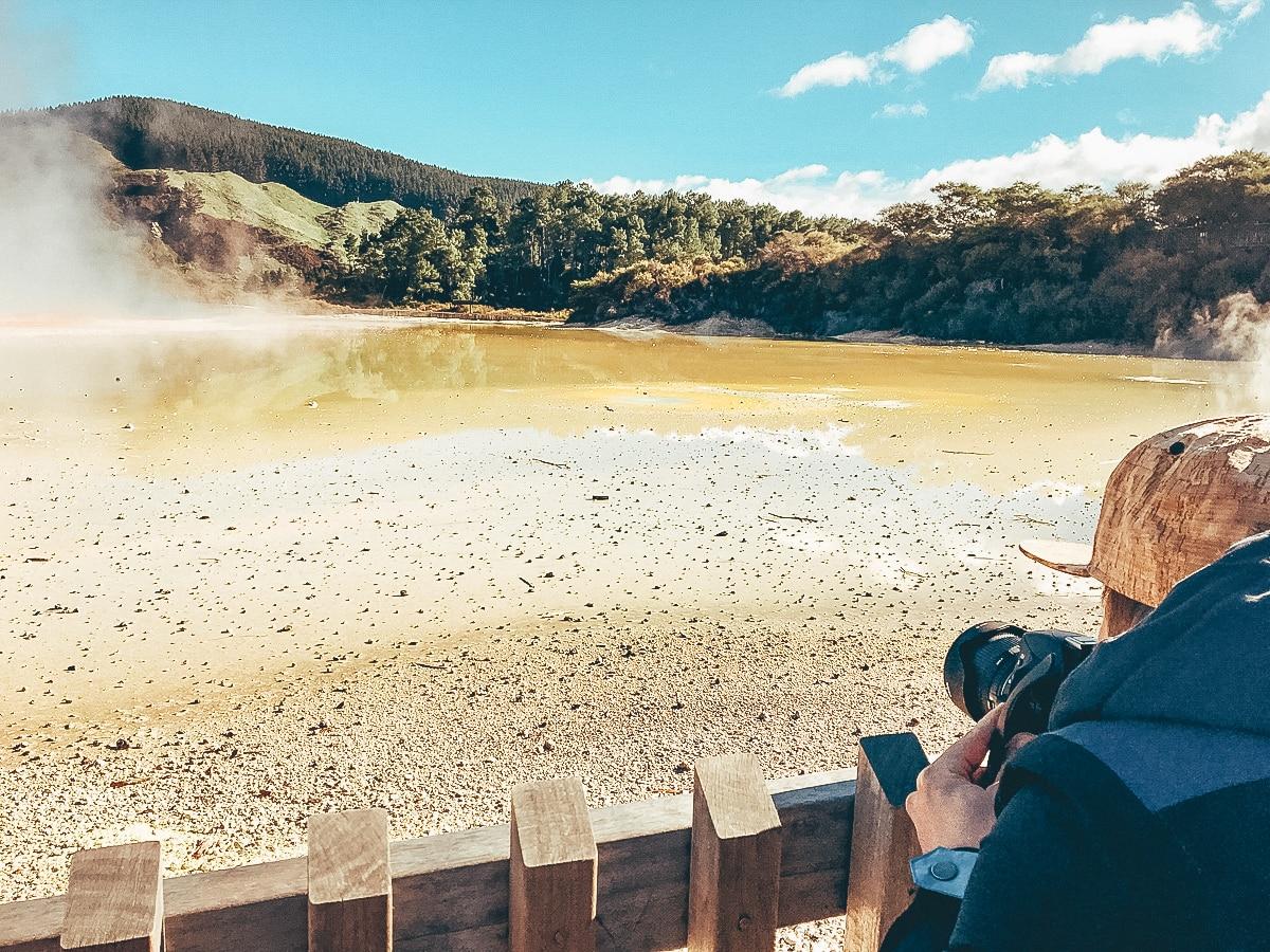 Wai-O-Tapu Thermal Wonderland in Rotorua
