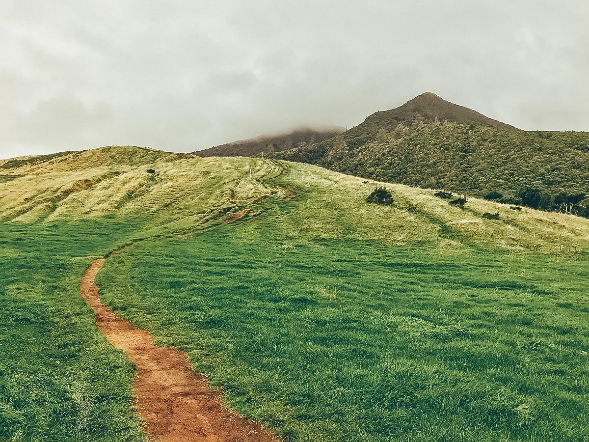 Mount Tauhara in Taupo
