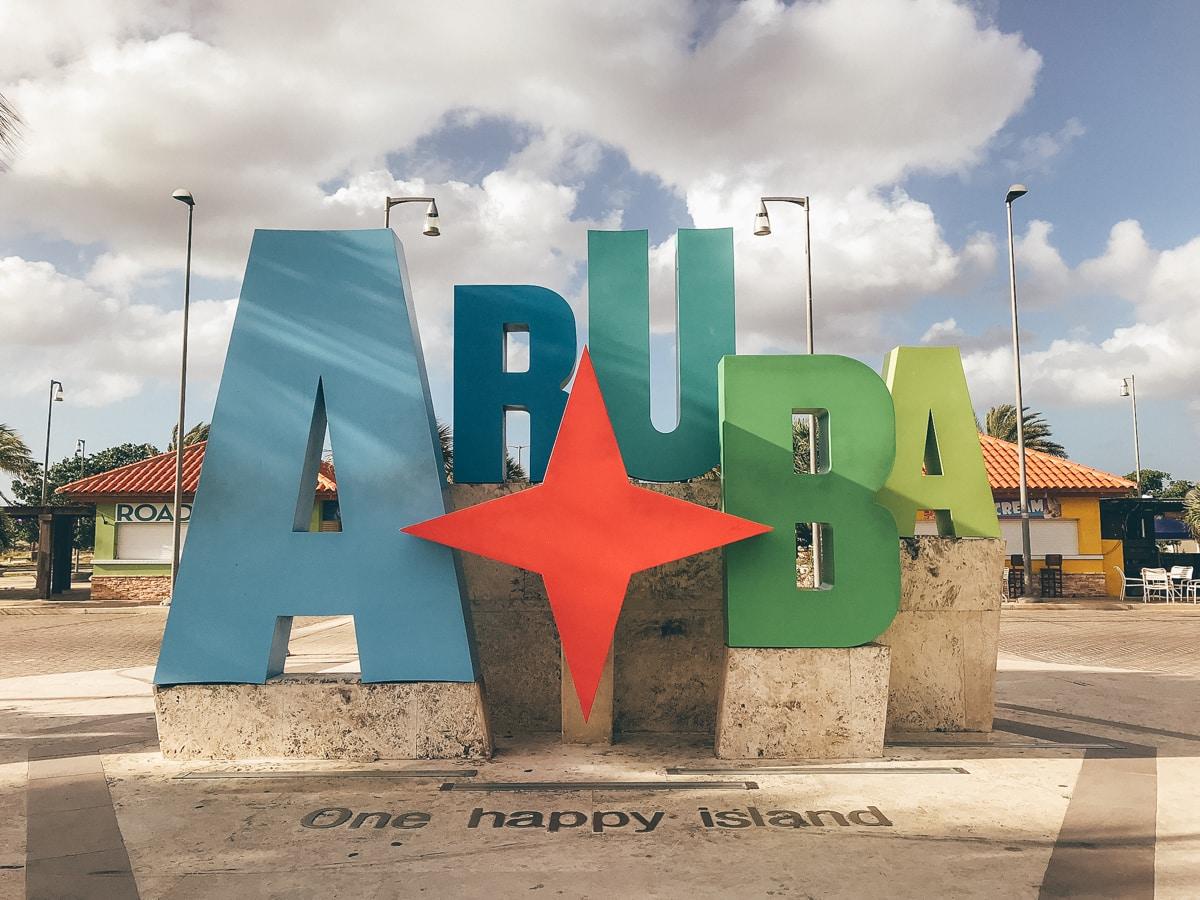 Aruba Zeichen