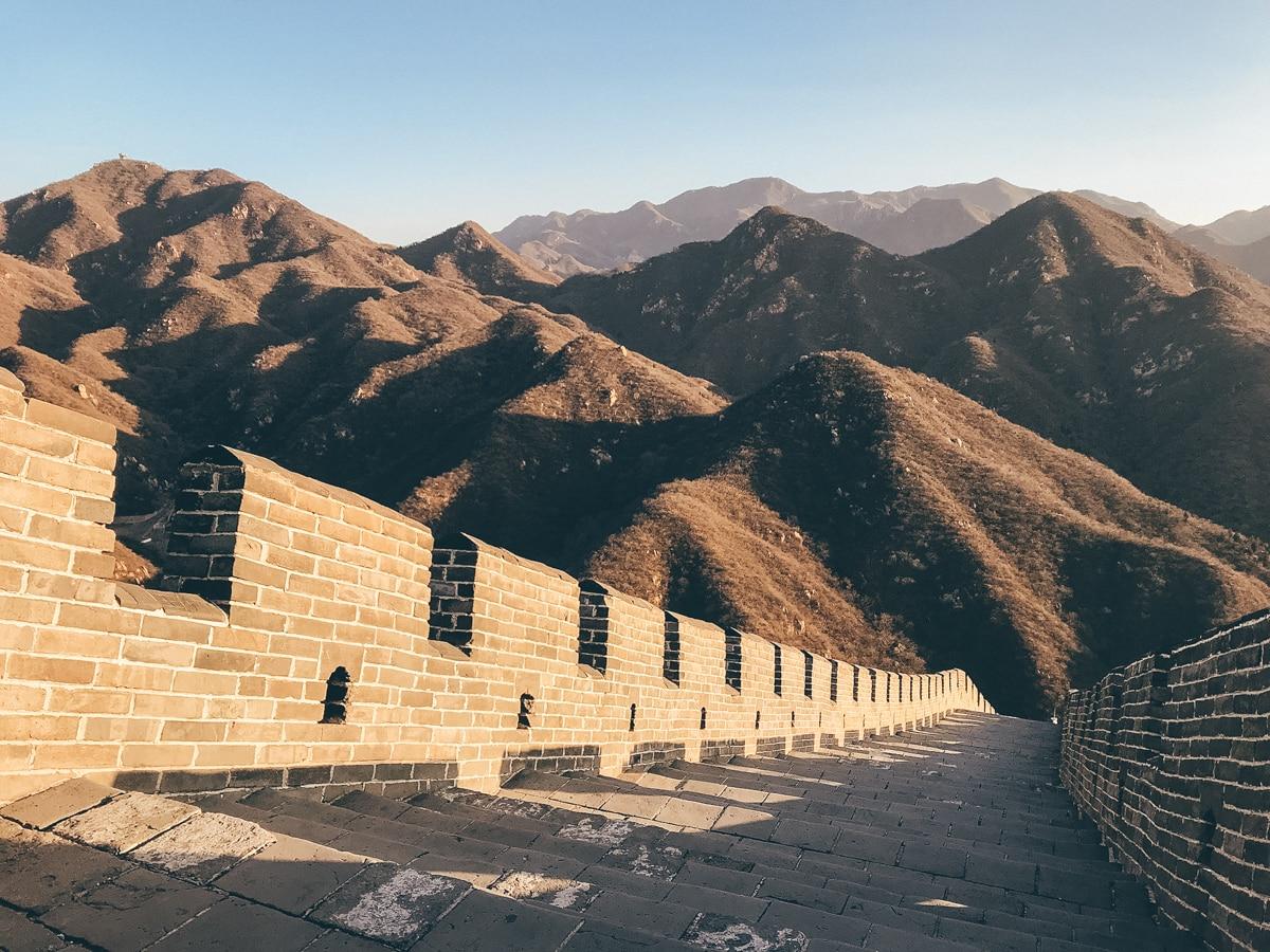 Chinesische Mauer: Tagesausflug von Peking nach Badaling