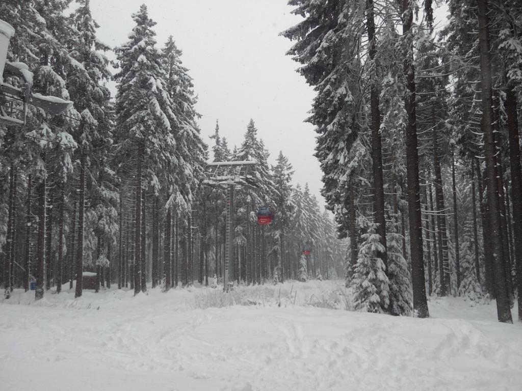 So war es auf dem Wurmberg - Ski fahren im Harz