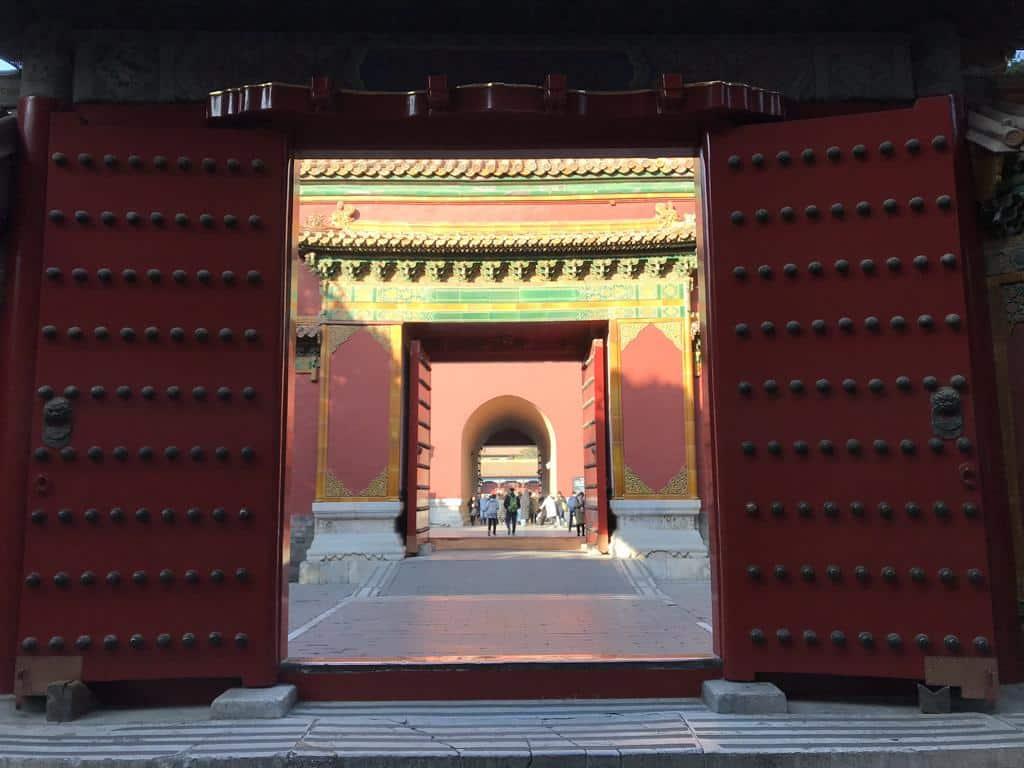 Ein Tag in der Verbotenen Stadt ♕ in Peking